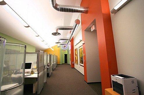 国外广告公司办公空间设计