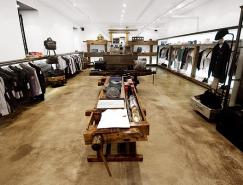 Nomad服装专卖店室内空间设计