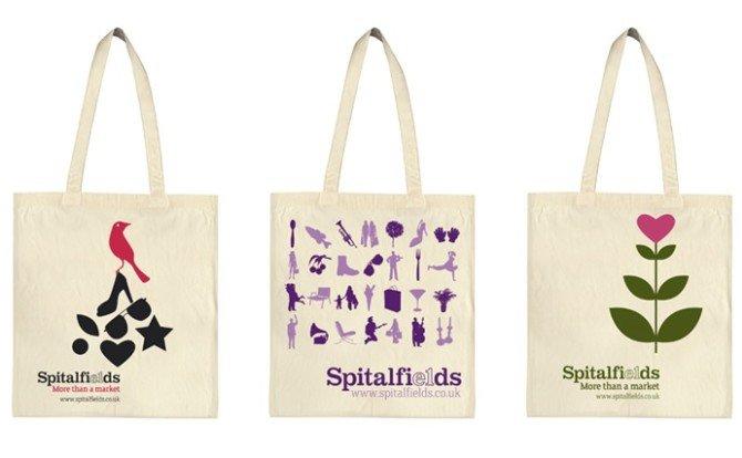 spitalfields商场环保手提袋设计