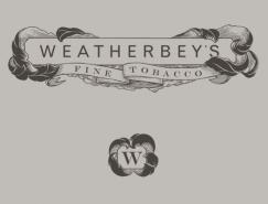国外雪茄香烟品牌VI设计