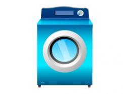 洗衣机矢量素材