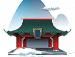 中国元素风格PNG透明图标