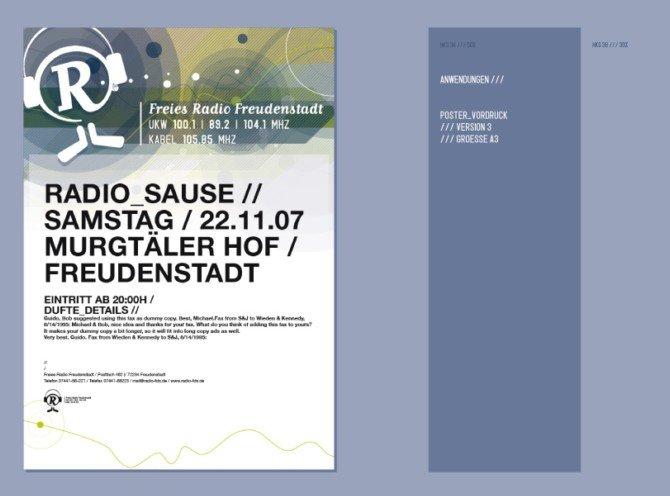 Freies广播电台VI设计