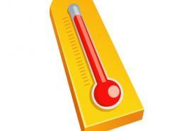温度计矢量素材