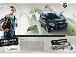 斯柯达Fabia汽车网站设计