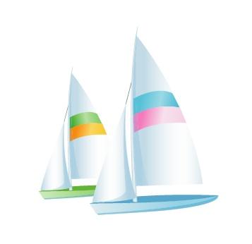 雪花片拼帆船图案步骤