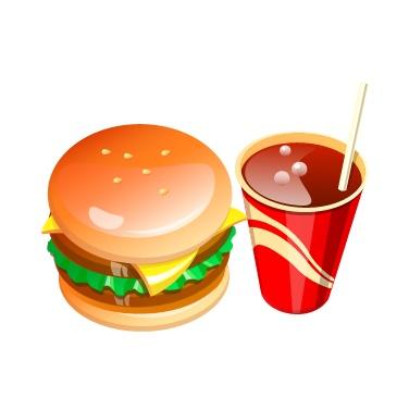 肯德基汉堡简笔画; 可乐简笔画可乐瓶简笔画卡通可乐简笔画; 出汉堡的