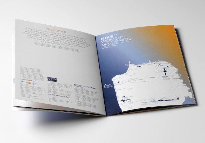 运动品牌nike women产品宣传画册设计(5)