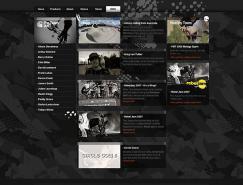 CarharttBMX自行车网站设计