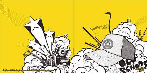 copyright杂志新锐版面设计