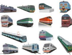 火车矢量素材(1)