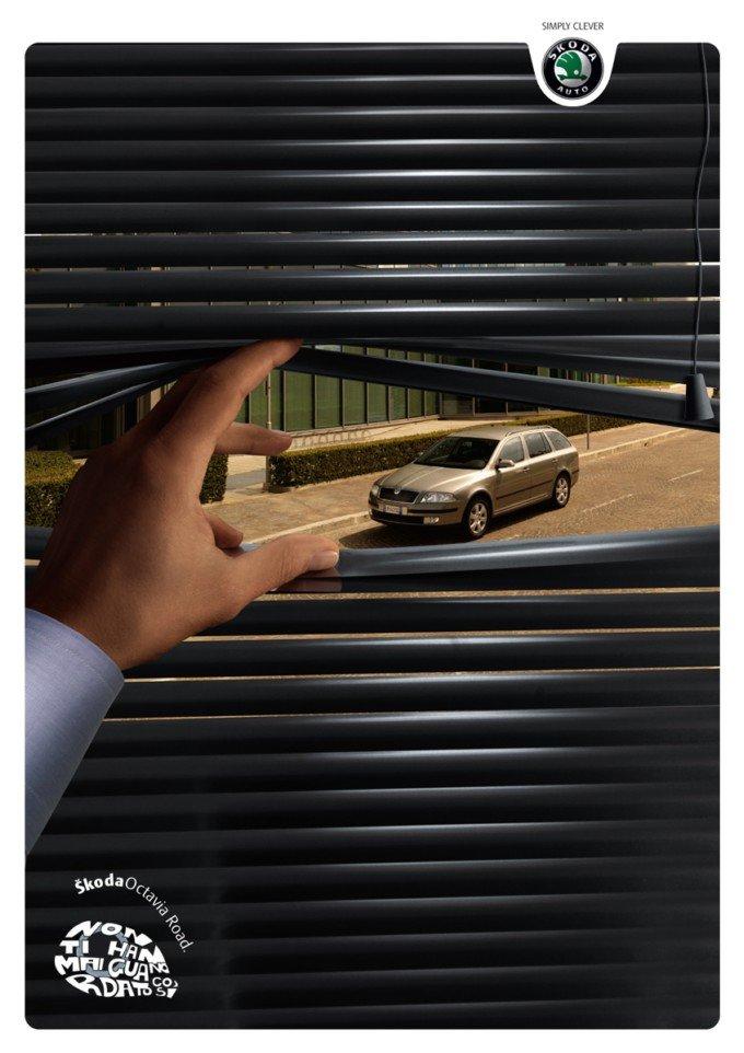 Skoda(斯柯达)汽车广告欣赏(2)