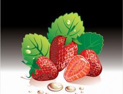 草莓矢量素材(2)