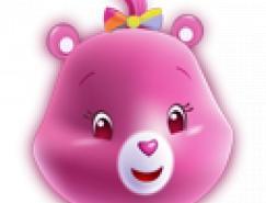 可爱小熊头像PNG图标
