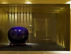 梁志天作品:稻菊餐厅香港四季酒店分店室内设计