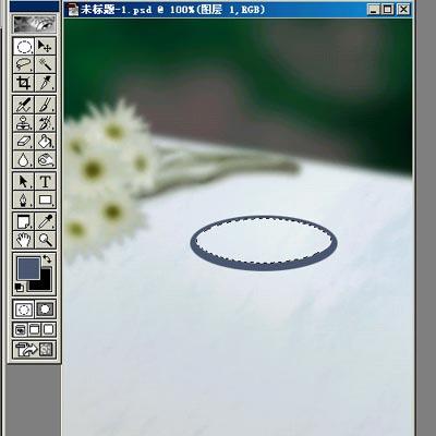 Photoshop手绘温馨烛光