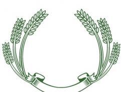 精选矢量稻穗(4)
