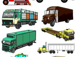 各种汽车矢量素材(05)