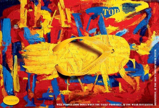 巴西Havaianas人字型拖鞋最新广告欣赏