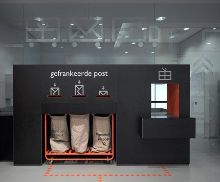 TNT邮局室内设计欣赏
