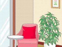 室内装饰矢量图(09)