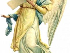 5个可爱天使PNG素材