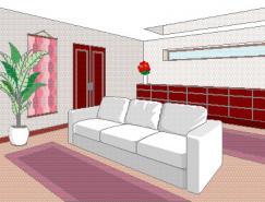 室内装饰矢量图(58)