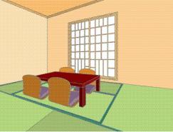 室内装饰矢量图(62)