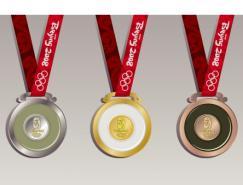 北京奥运会奖牌矢量素材