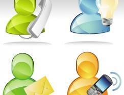 MSN图标矢量素材