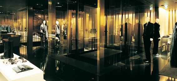 Armani东京旗舰店室内设计欣赏