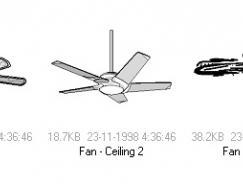 吊扇矢量素材