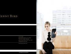 JennyBird手袋画册版式设计