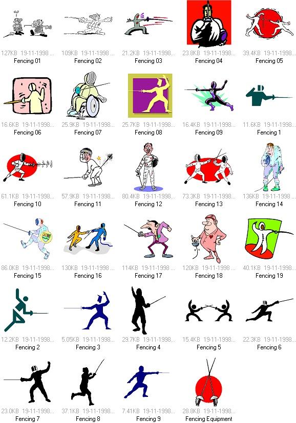 关键字:体育运动矢量素材, 击剑, 击剑运动, EPS格式上一篇:...