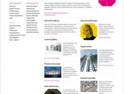 世界建筑节网站设计欣赏
