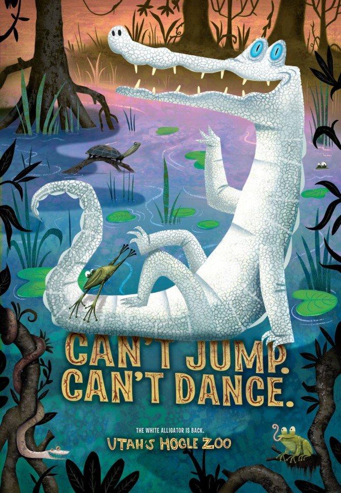 国外动物园平面海报设计欣赏