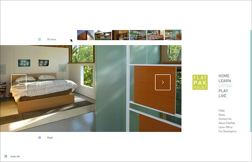 flatpak网页设计欣赏