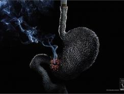 巴西反對吸煙組織ADESF公益廣告欣賞