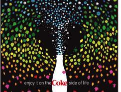 可口可乐(COKE)精美海报设计欣