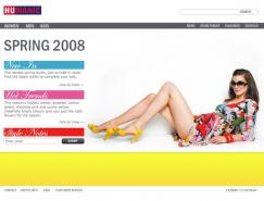 HUMANIC鞋品牌网站设计