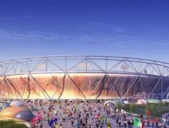 2012伦敦奥运会各场馆设计蓝图