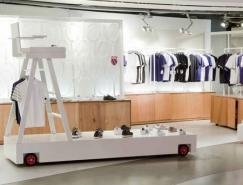 运动品牌K-Swiss专卖店室内设计