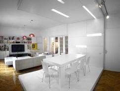 纯白浪漫:纯白家居装修设计欣赏