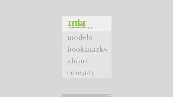 mta模特公司网站设计欣赏