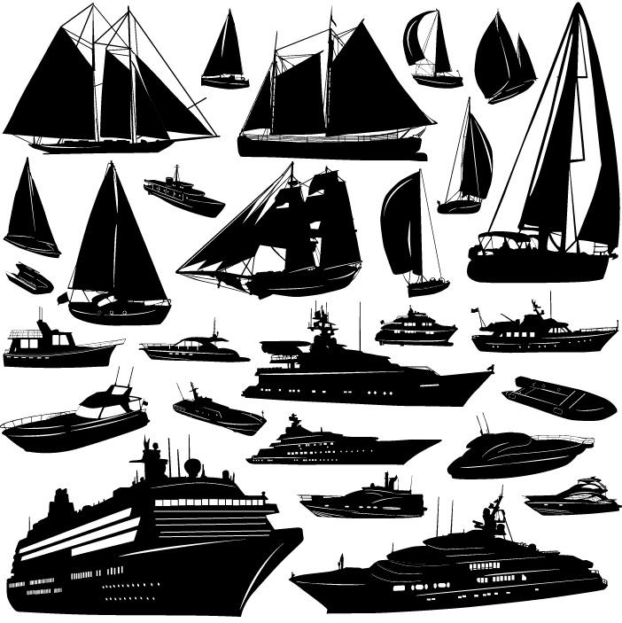 关键字:矢量素材, 帆船,油轮,快艇,游船,轮船,eps格式