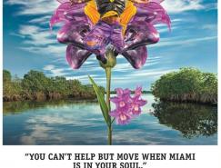 迈阿密旅游平面广告欣赏