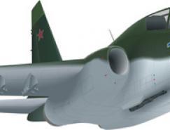 喷气战斗机矢量素材