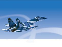 苏27战斗机矢量素材