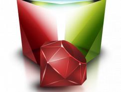 红钻石系列高清图标PNG