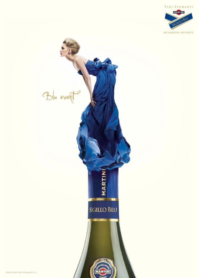 martini酒创意广告欣赏